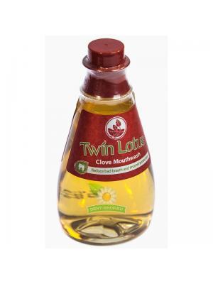 Бальзам ополаскиватель для полости рта с ароматом гвоздики Herbal Twin Lotus Mouthwash 330 мл