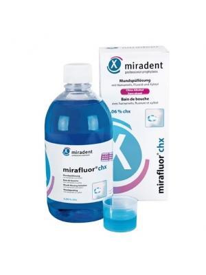 Miradent Mirafluor CHX ополаскиватель для полости рта 0,06 % хлоргексидина 500 мл