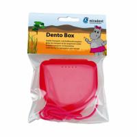 Miradent футляр для хранения ортопедических конструкций розовый