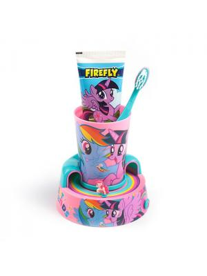 SmileGuard My Little Pony набор: зубная паста и щетка,  подставка с таймером, стакан от 3 лет