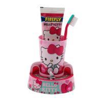 SmileGuard Hello Kitty Toothbrush Timer Gift Set набор гигиенический: зубная щетка, паста, подставка-таймер, стакан
