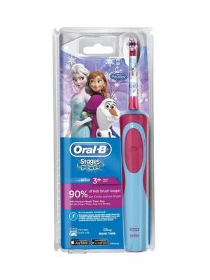 Braun Oral-B Stages Power Frozen электрическая зубная щетка на аккумуляторе + футляр