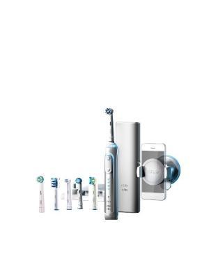 Braun Oral-B Genius 8000 Bluetooth Smart электрическая зубная щетка с датчиком определения зоны чистки (6 насадок)