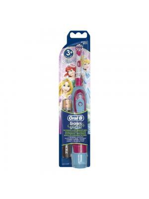 Детская электрическая зубная щетка Braun Oral-B Stages Power DB4510 от 3 до 12 лет