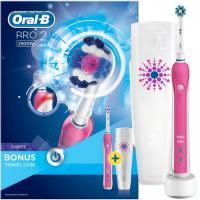 Braun Oral-B PRO 2-2500 3D Action розовая