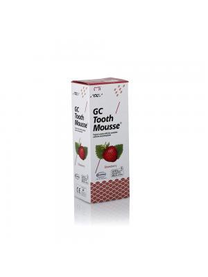 GC Tooth Mousse Strawberry Тус Мусс со вкусом клубники реминерализирующий гель (35 мл)