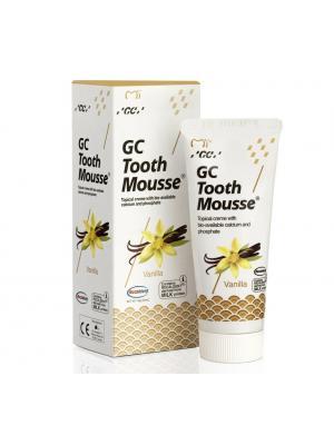 GC Tooth Mousse Vanilla Тус Мусс со вкусом ванили реминерализирующий гель (35 мл)