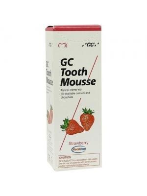 GC Tooth Mousse Strawberry Тус Мусс со вкусом клубники реминерализирующий гель Япония (35 мл)