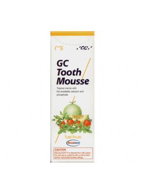 GC Tooth Mousse Tutti-Frutti Тус Сусс со вкусом мультифрукт реминерализирующий гель Япония (35 мл)