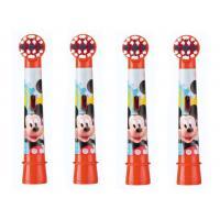 Braun Oral-B Mickey сменные насадки для электрической щетки (4 шт)