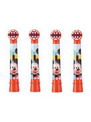 Сменные насадки для щетки Braun Oral-B Mickey Mouse (4 шт)