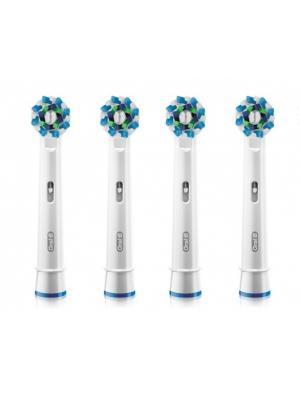 Braun Oral-B Cross Action сменные насадки для для электрической зубной щётки 4 шт