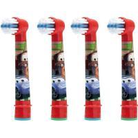 Braun Oral-B Stages Power Cars насадки для детской электрической щетки 4 шт