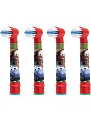 Электрические насадки Braun Oral-B Stages Power Cars для детской щетки 4 шт EB10K