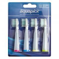 Aquapick AQ-110BHP сменные насадки для звуковой электрической щетки (4 шт)