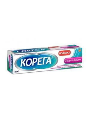 Корега крем для фиксации съемных зубных протезов защита десен (40 гр)