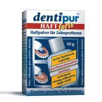 Dentipur haftpulver порошок для фиксации съемных протезов (50 гр)