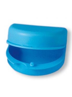 Miradent футляр для хранения ортопедических конструкций голубой