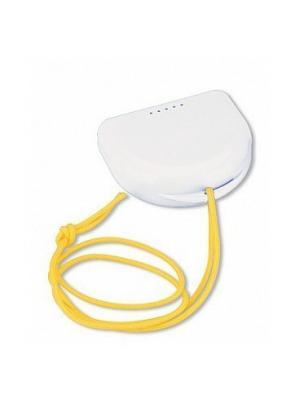 Miradent футляр для хранения ортопедических конструкций белый.