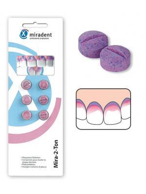 Miradent Mira-2-Ton таблетки для индикации зубного налета (6 шт)