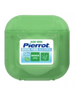 Pierrot Dental Floss Aloe Vera межзубный флосс вощеный (50 м)