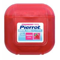 Pierrot Dental Floss Strawberry межзубный флосс вощеный Клубника (50 м)