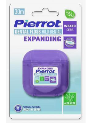 Pierrot Dental Floss Expanding межзубный флосс вощеный расширяющийся (30 м)