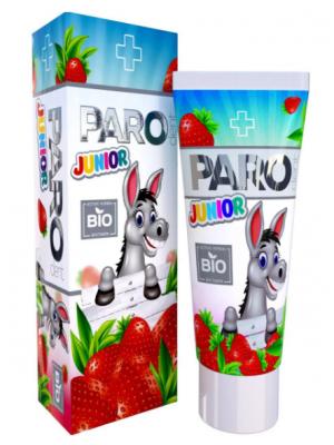 Paro dent Junior Bio детская зубная паста с витаминами 3-11 лет (50 мл)