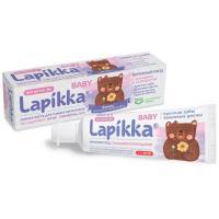 Lapikka Baby зубная паста с кальцием и календулой для детей 0+ (45 гр)
