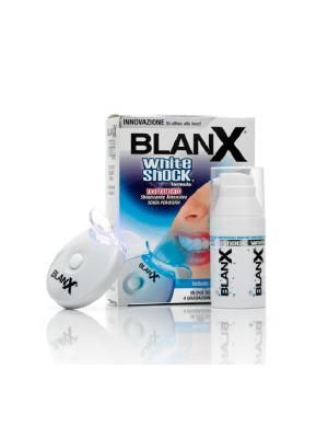 Лучшая отбеливающая зубная паста BlanX White Shock Treatment + Led Bite активатор