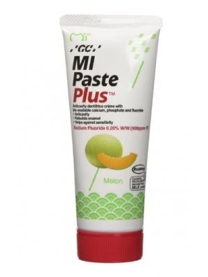 GC Tooth Mousse MI Paste Plus Тус Мусс паста реминерализирующая со фтором Дыня (40 гр)
