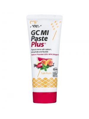 GC MI Paste Plus Тус Мусс паста реминерализирующая со фтором Мультифрут (40 гр)
