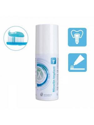 Miradent Miraclin Implant зубная паста для ухода за имплантатами (100 мл)