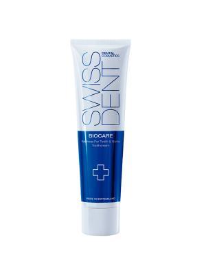 Swissdent Biocare отбеливающая зубная паста для чувствительных зубов и дёсен (100 мл)