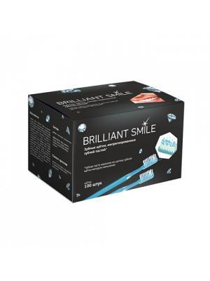 Brilliant Smile одноразовые зубные щетки с напылением зубной пасты 100 шт