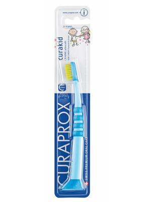 Curaprox Curakid 4260 детская зубная щетка с гуммированной ручкой для детей от 0 до 4