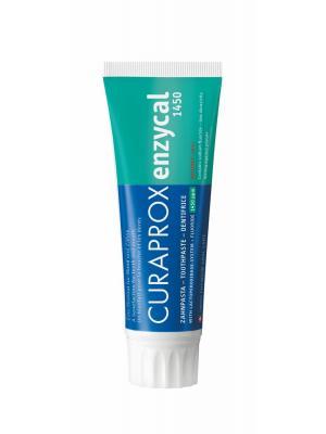 Curaprox Enzycal 1450 ppm зубная био-паста комплексного действия (75 мл)