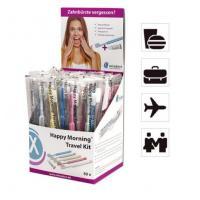 Miradent Happy Morning Travel kit зубная щетка и освежающая паста 3 гр 50 шт