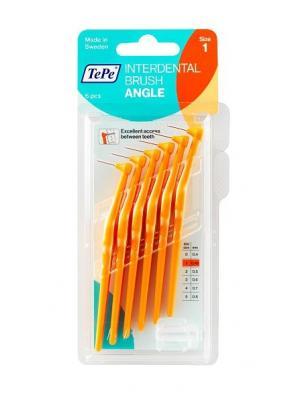 TePe Interdental brush Angle ершики для очищения межзубных промежутков 0,45 мм (6 шт)