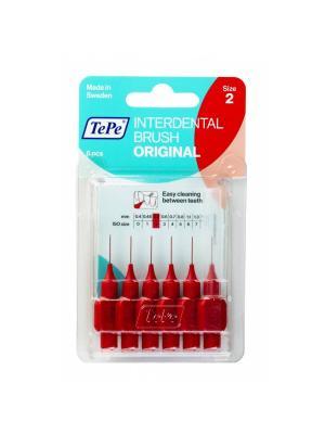 TePe Interdental brush original набор межзубных ершиков 0,5 мм (6 шт)