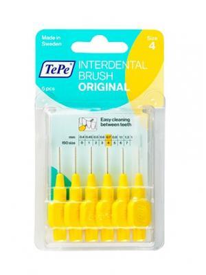 TePe Interdental brush original набор межзубных ершиков 0,7 мм (6 шт)