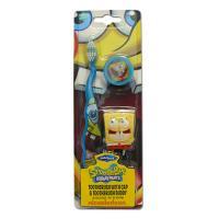 SmileGuard Spongebob Soft детская зубная щётка с брелком и присоской от 3-х лет