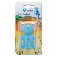 Miradent Funny Elephant футляр для хранения детской зубной щетки Слон