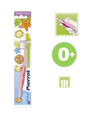 Зубная щетка Pierrot Baby для детей от 0 до 2 лет