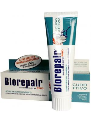 Biorepair PRO Scudo Attivo (Active Shield) - зубная паста активная защита от кариеса 75 мл