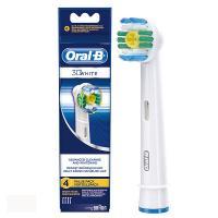 Braun Oral-B 3D White насадки для зубной щётки 4 шт