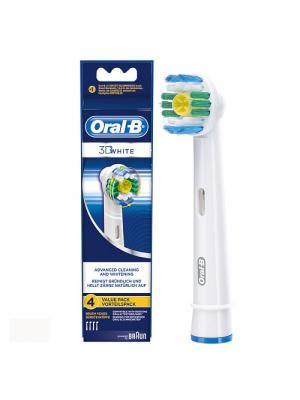 Braun Oral-B 3D White сменные насадки для для электрической зубной щётки 4 шт