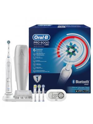 Braun Oral-B PRO 6000 Smart Series электрическая зубная щётка с шестью функциями
