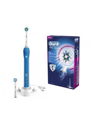 Braun Oral-B PRO 3000 3D Action электрическая зубная щетка на аккумуляторе