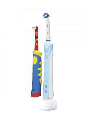 Braun OralB 500 + Braun OralB Kids комплект электрических зубных щёток - взрослая и детская